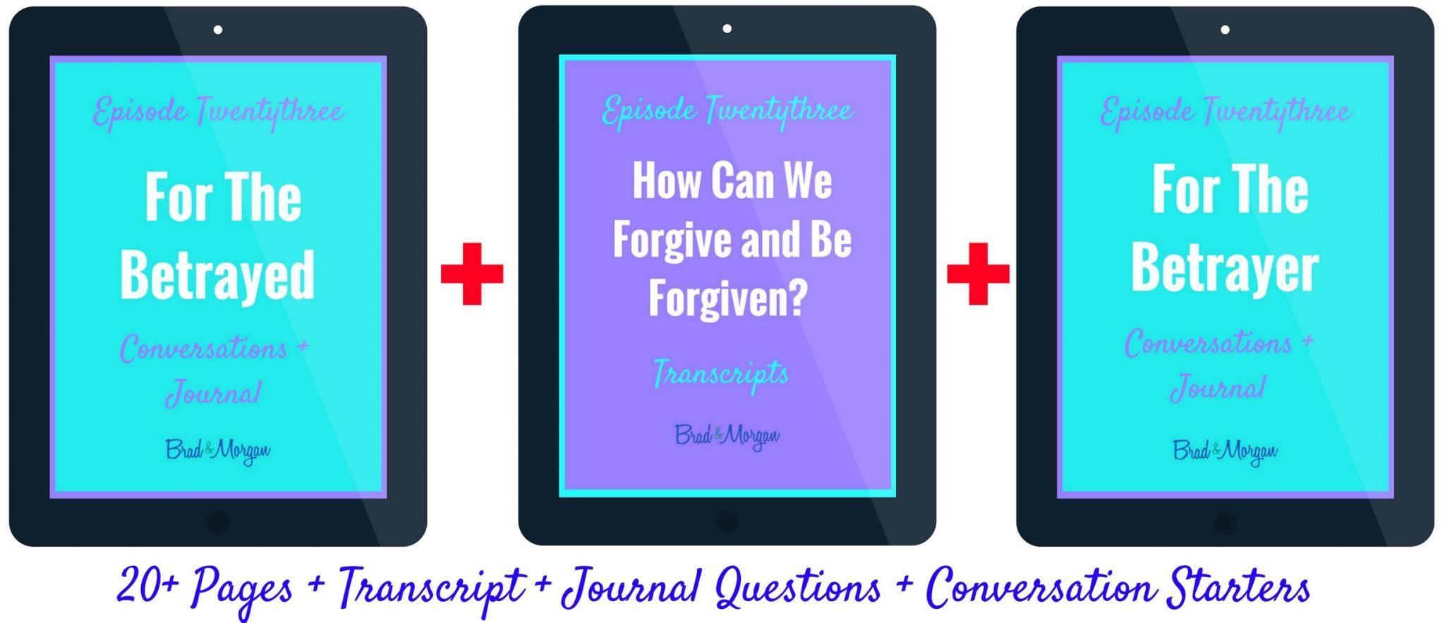 Forgiveness Worksheets