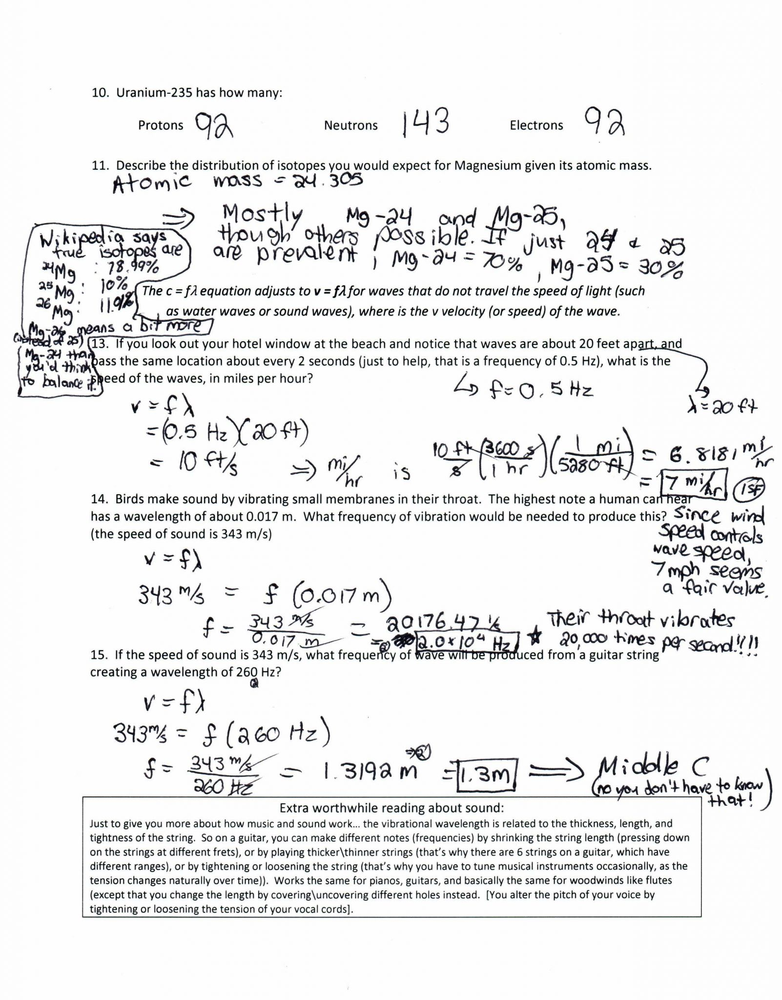 Gas Laws Worksheet 1 Answer Key
