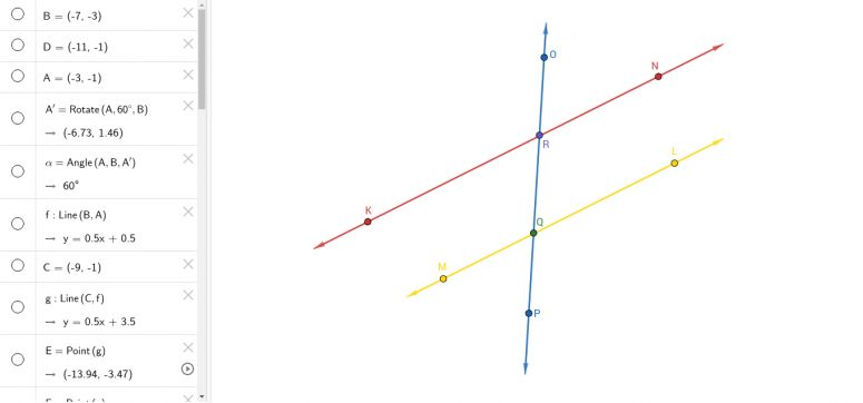Geometry Parallel Lines and Transversals Worksheet Answers