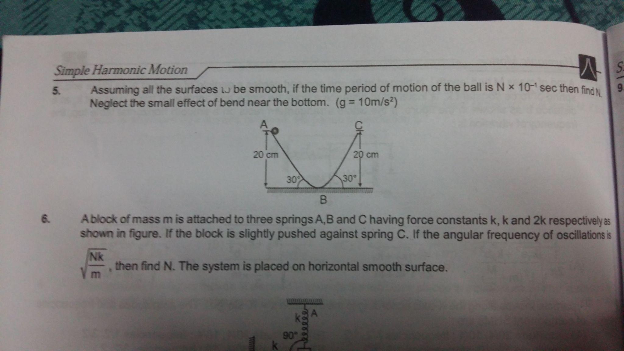 Harmonic Motion Worksheet Answers