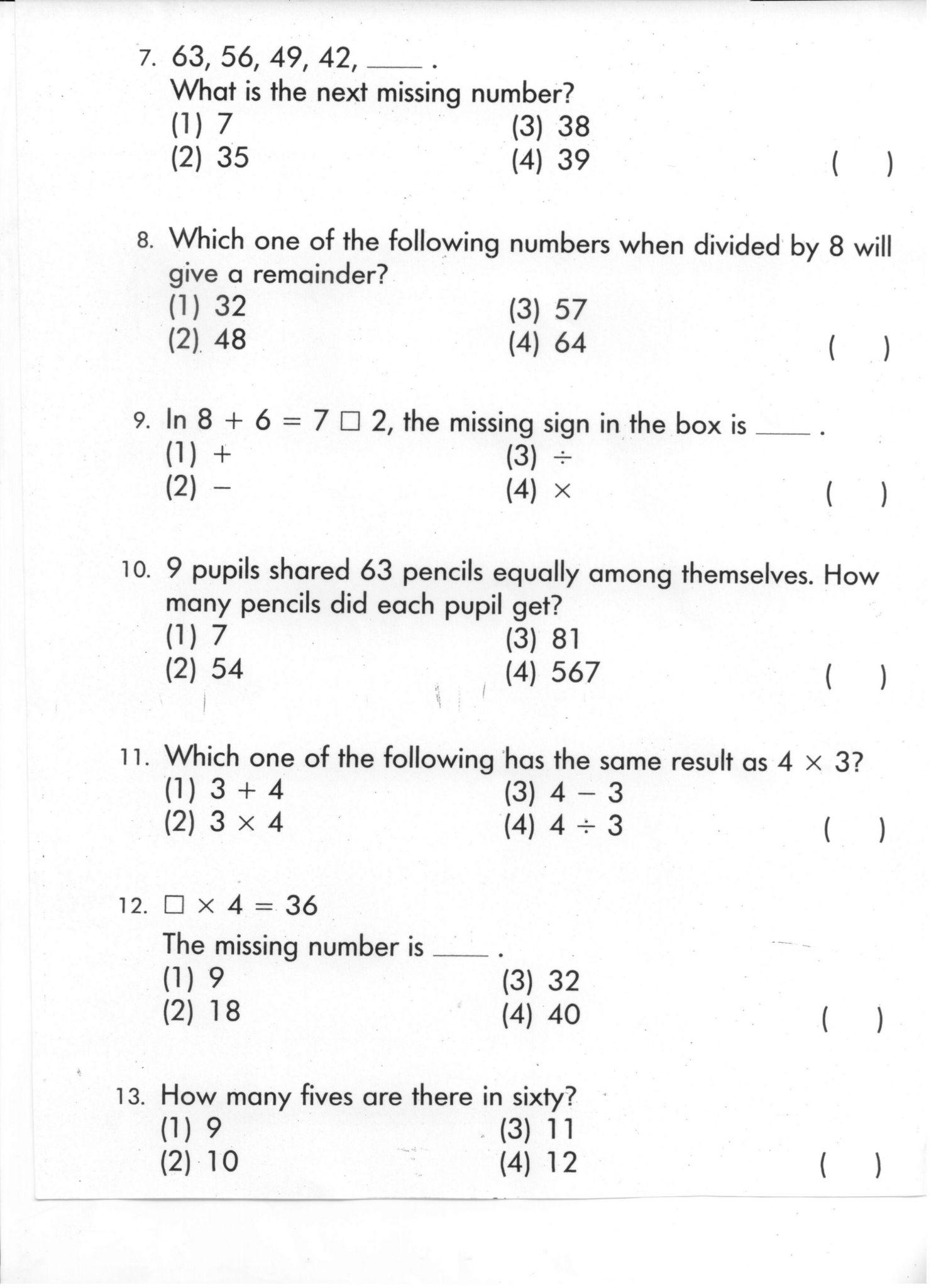 Homeschoolmath Net Worksheets