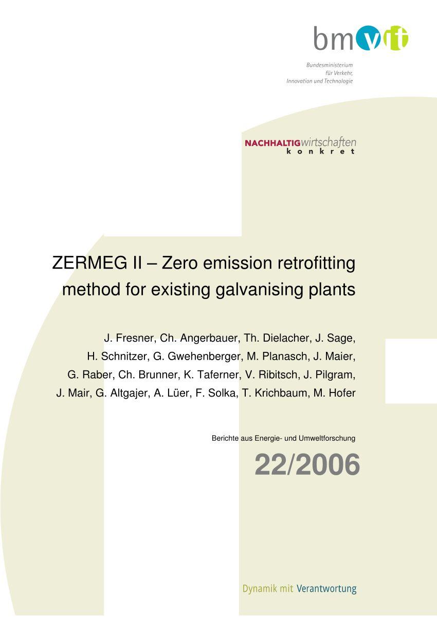 medium resolution of pdf zero emission retrofitting of existing galvanising plants ii