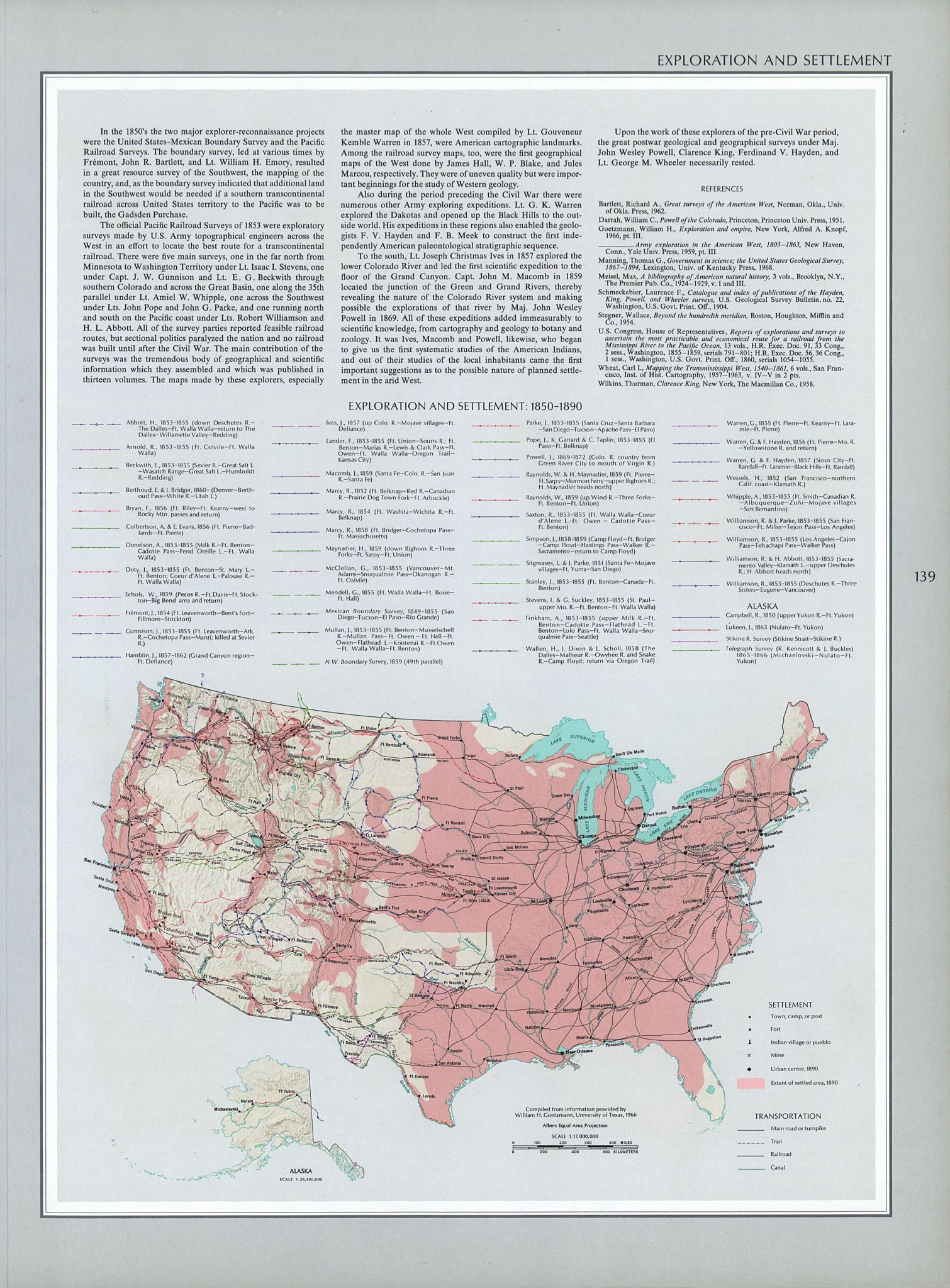 American History Map Worksheet