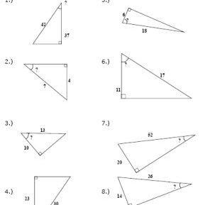 Inverse Trigonometric Ratios Worksheet Answers