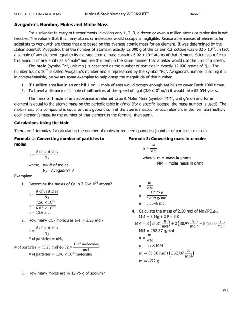 medium resolution of Stoichiometry Problems Chem Worksheet 12 2 Answer Key - Promotiontablecovers