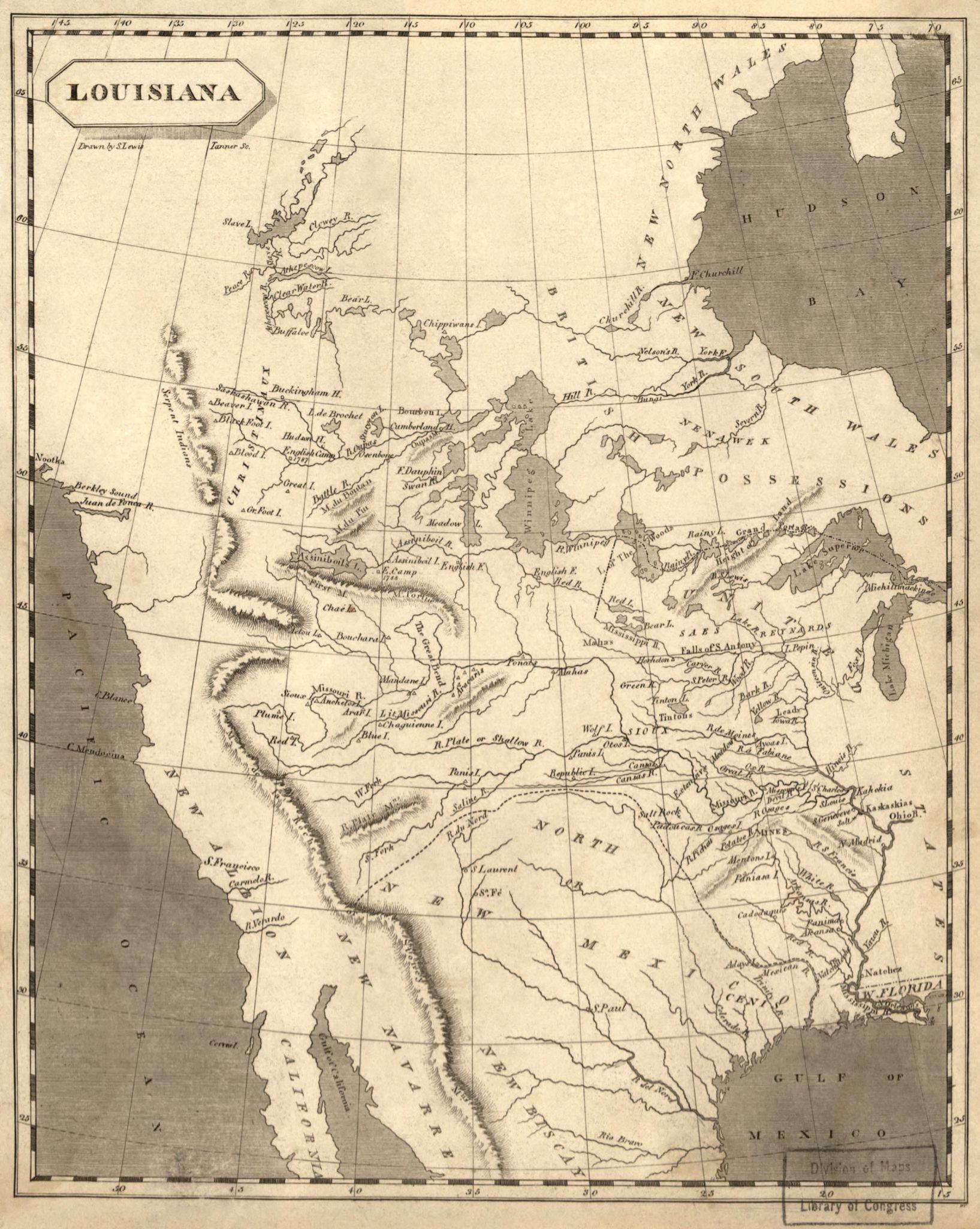 Louisiana Purchase Map Activity Worksheet