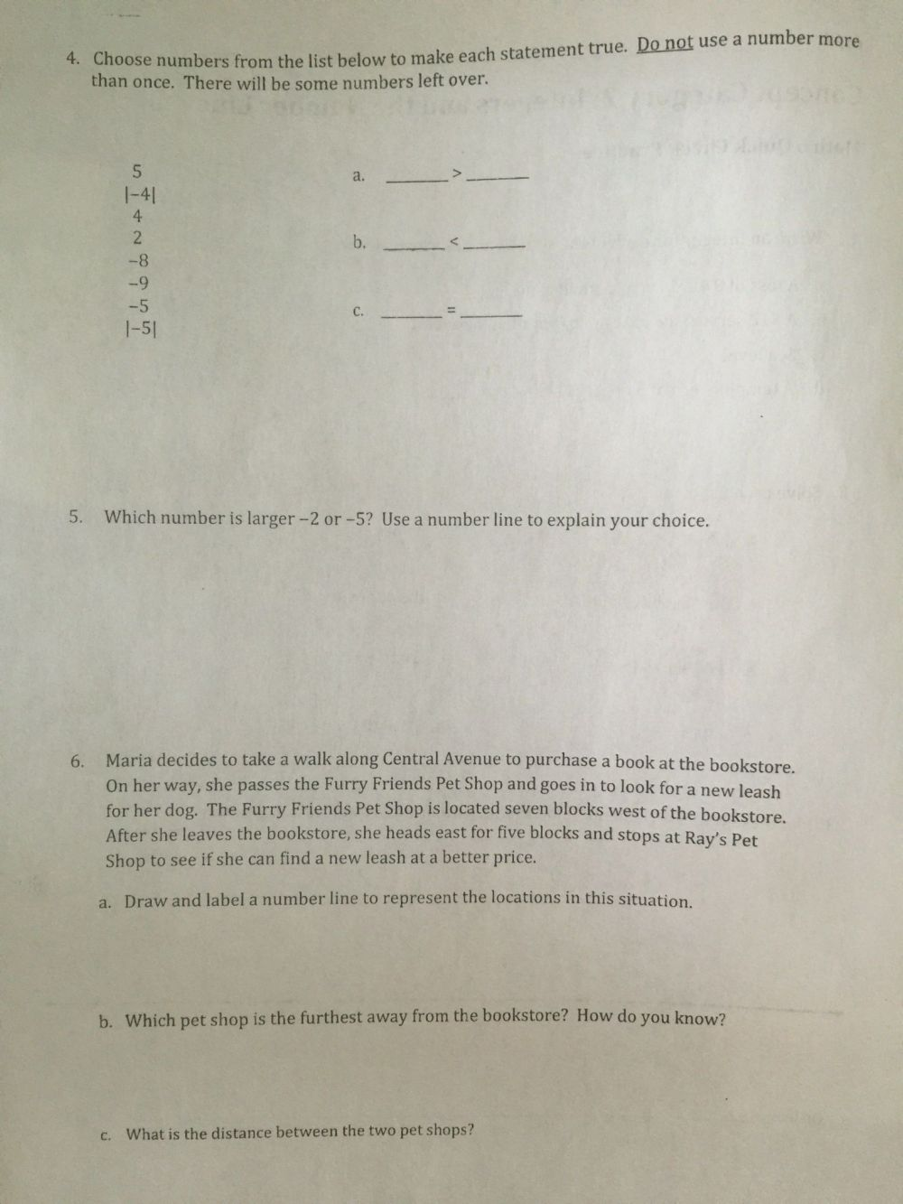 medium resolution of Central Tendency Worksheet   Printable Worksheets and Activities for  Teachers