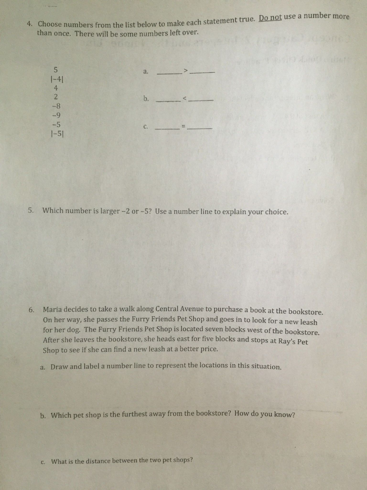 hight resolution of Central Tendency Worksheet   Printable Worksheets and Activities for  Teachers