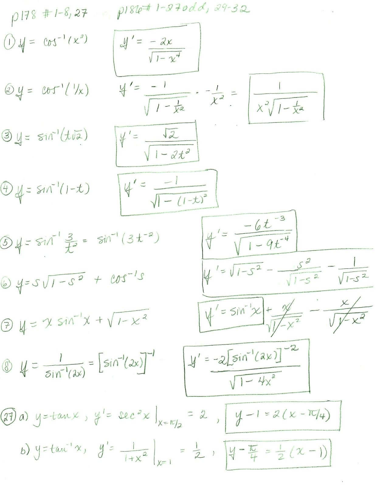 Positions Of Functions Worksheet