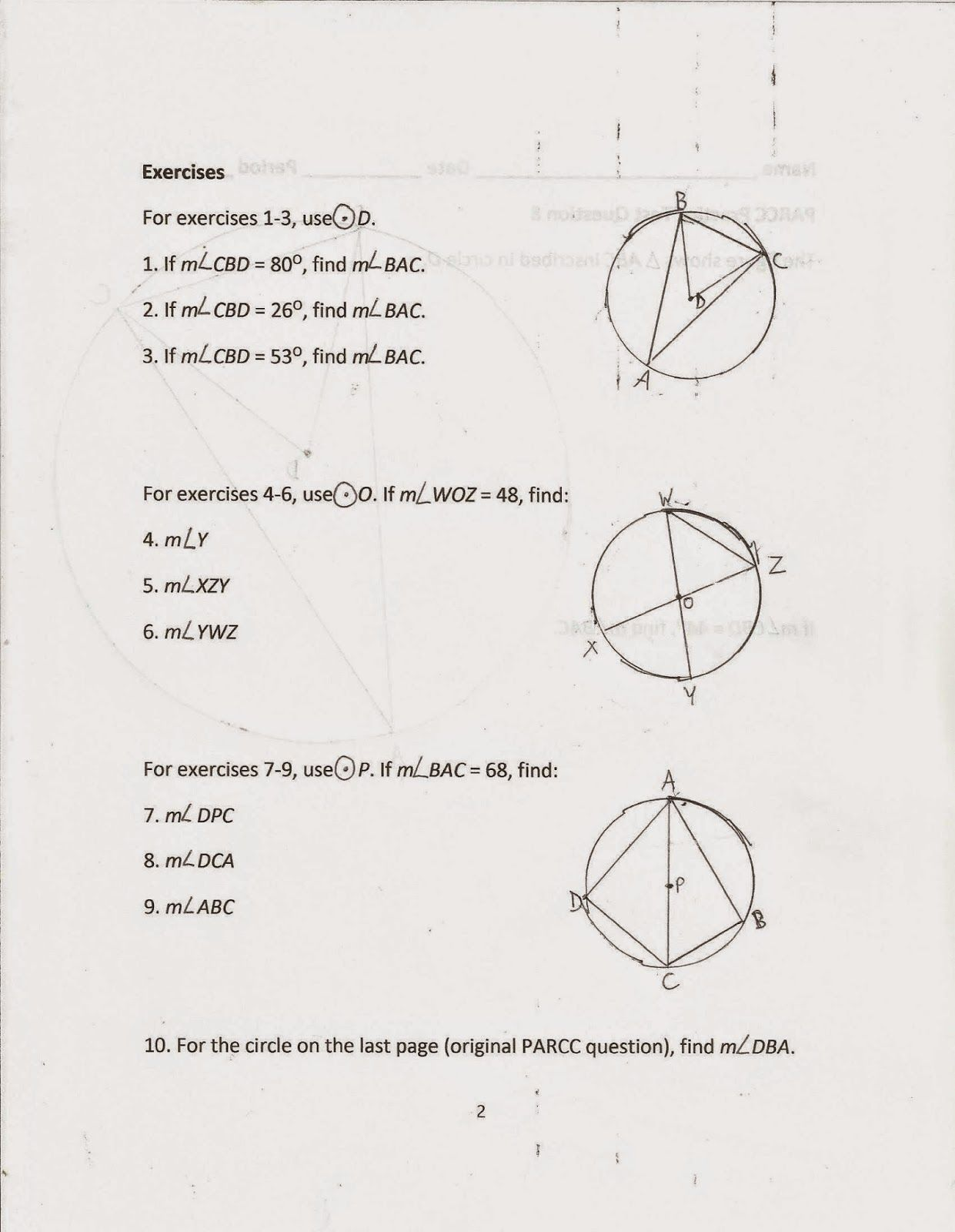 Midpoint And Distance Formula Worksheet With Answers