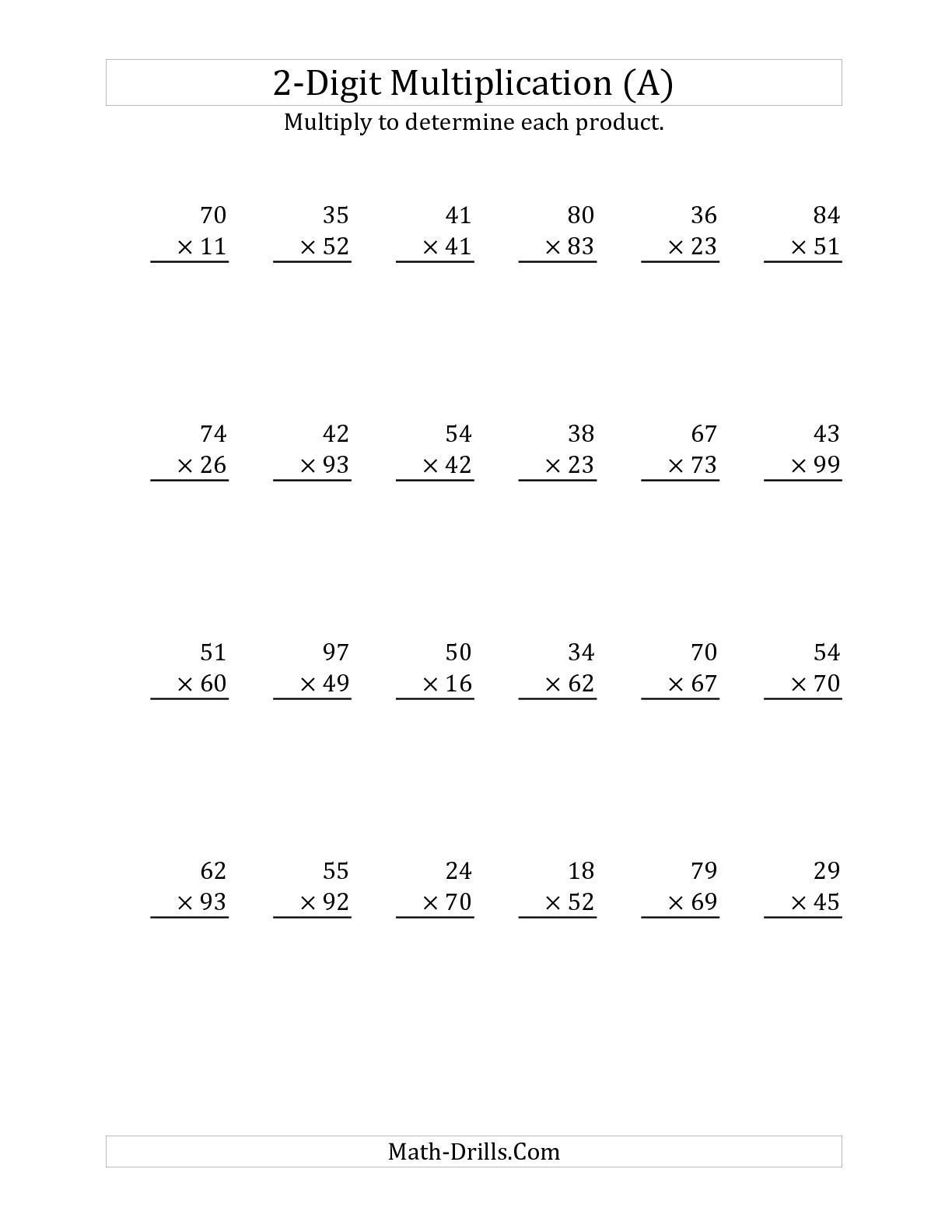 Multiplying Decimals Worksheets 6th Grade