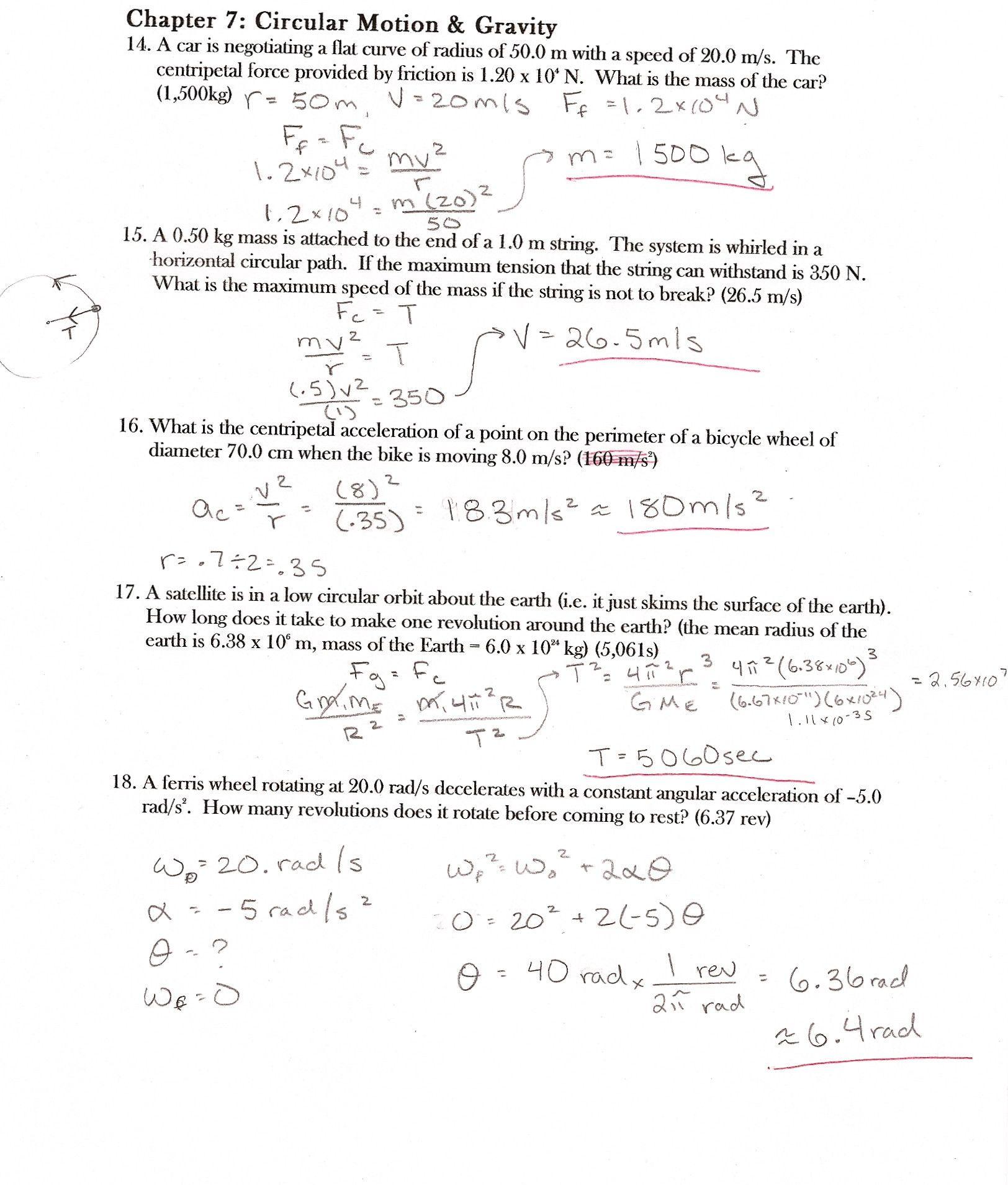 Mutations Worksheet Answers