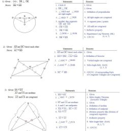 Geometric Proofs Worksheet With Answers - Nidecmege [ 1265 x 1071 Pixel ]
