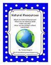 Great definition of natural resources and examples Natural Resources from Teresa Gregorio on TeachersNotebook 30 pages Included in this