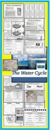 Very The Water Cycle Mini Unit With Power Point Foldables Science Labs Water Cycle Test Free
