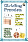 5th grade fractions worksheets Examples with visual fraction models included for ease of understanding dividing fraction concept A step by step approach