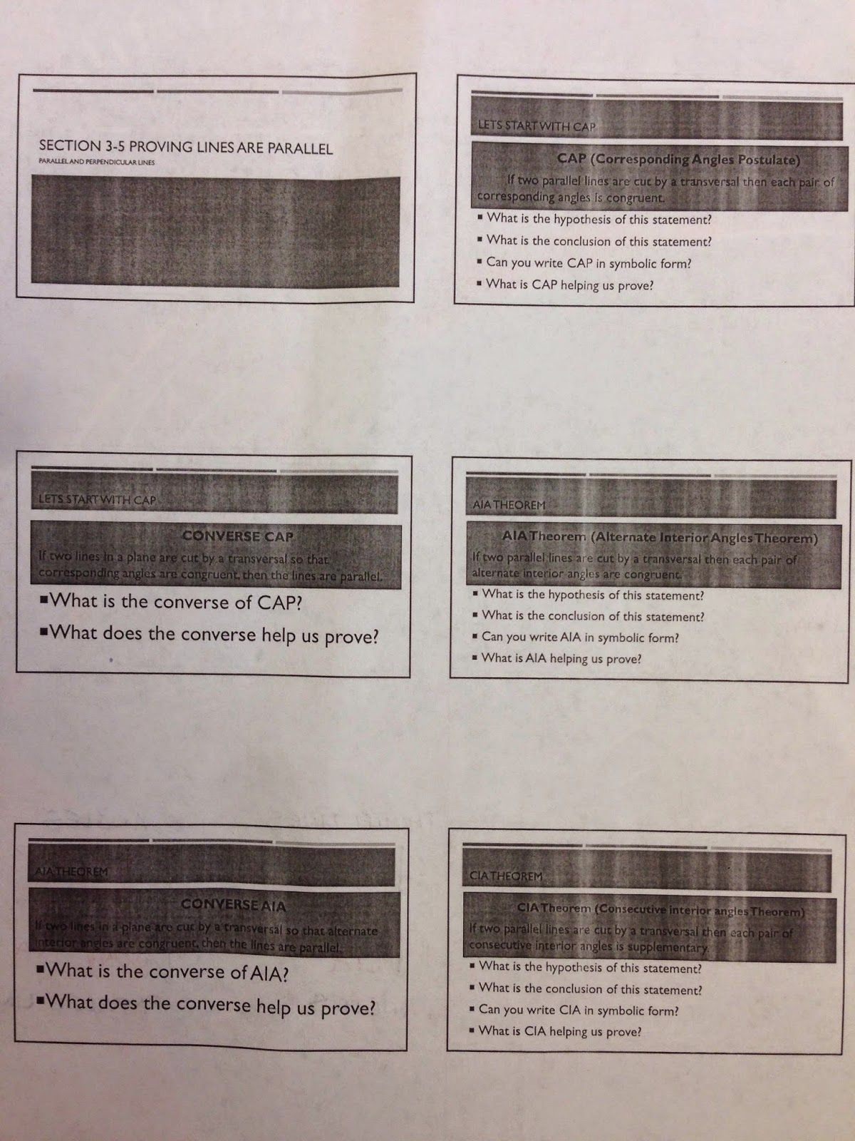 Parallel Lines And Transversals Worksheet Answers