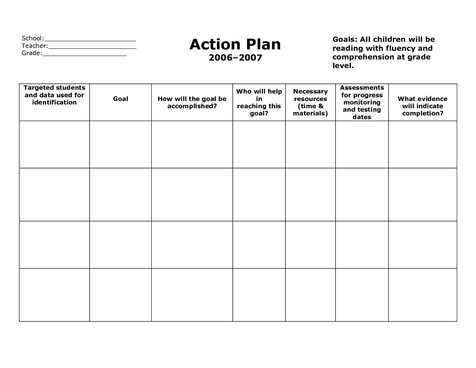Personal Goal Setting Worksheet