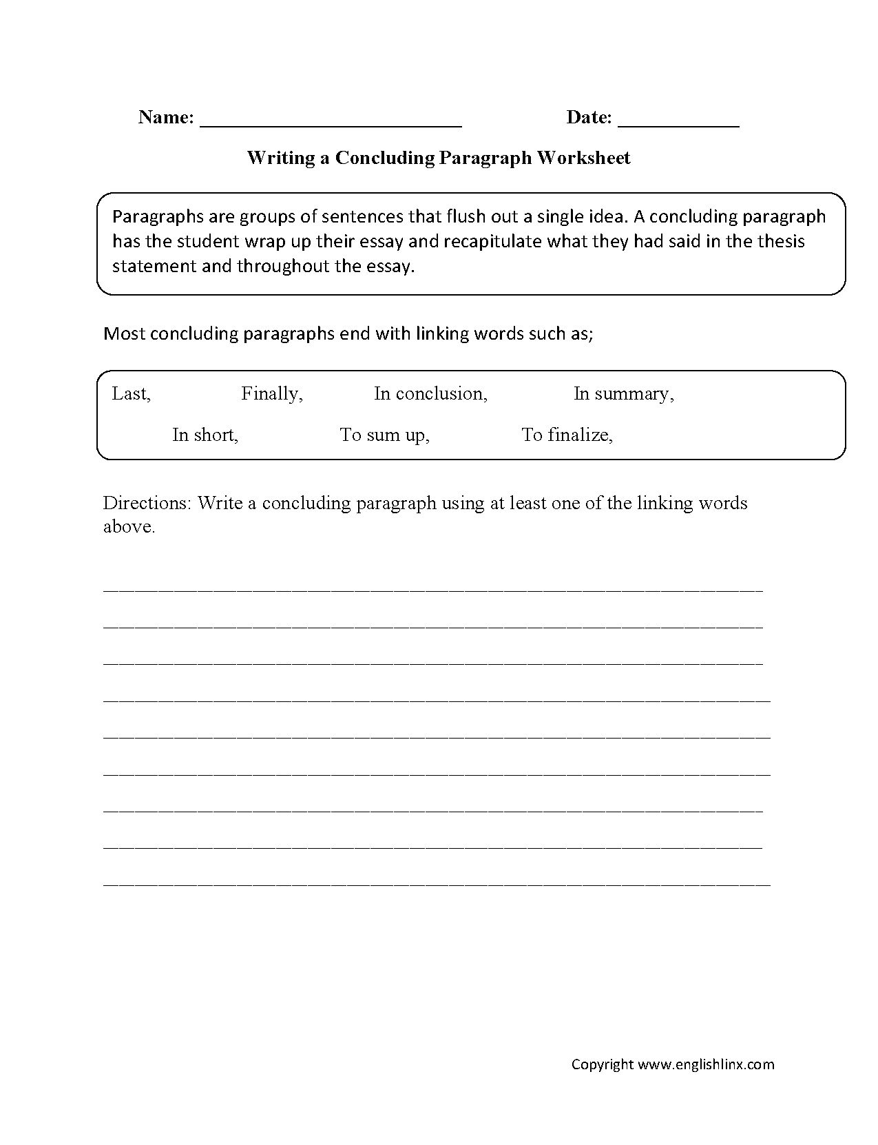 Premise And Conclusion Worksheet