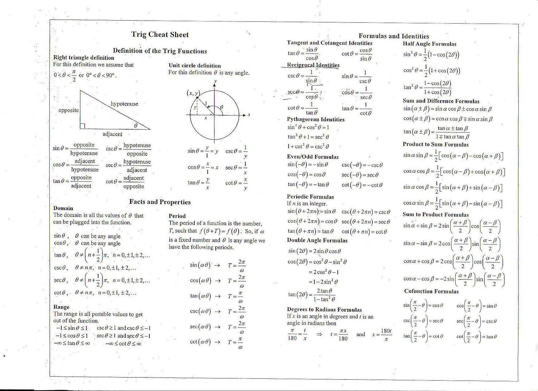33 Proving Trigonometric Identities Worksheet With Answers