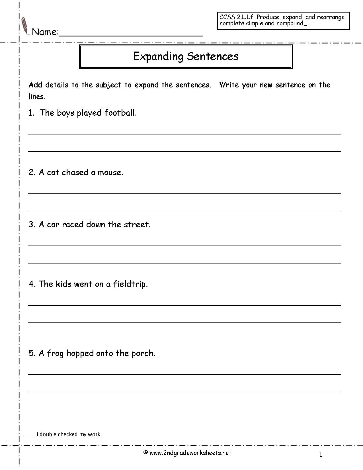 Quadratic Sequences Worksheet