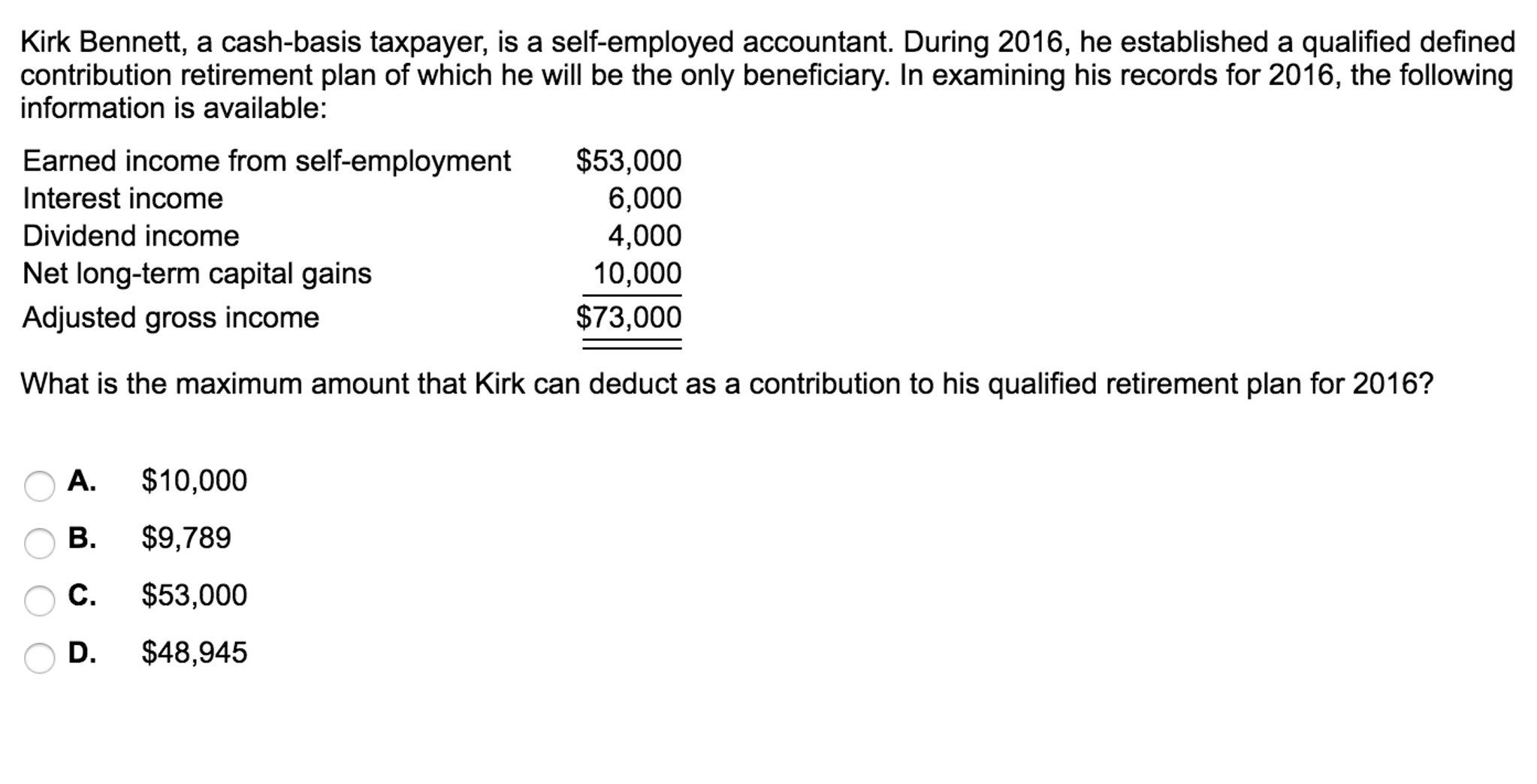 Qualified Dividends And Capital Gains Worksheet