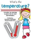 This packet includes activities for teaching students to read thermometers aligned with Virginia SOL 2 14