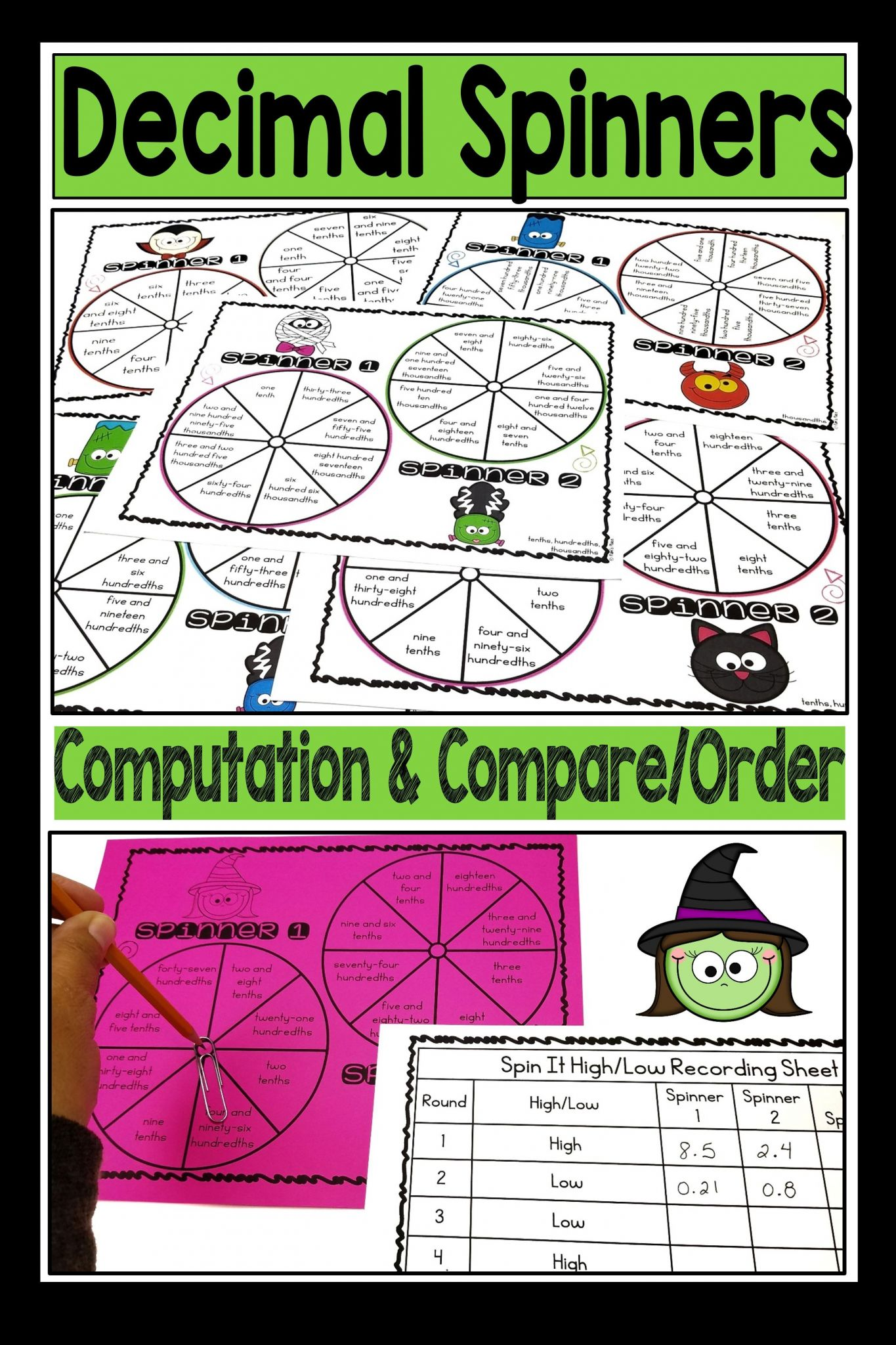 Reading And Writing Decimals Worksheets 5th Grade