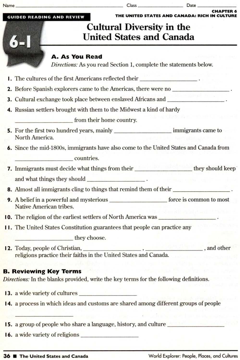 medium resolution of Social Stu S Worksheets 5th   Printable Worksheets and Activities for  Teachers