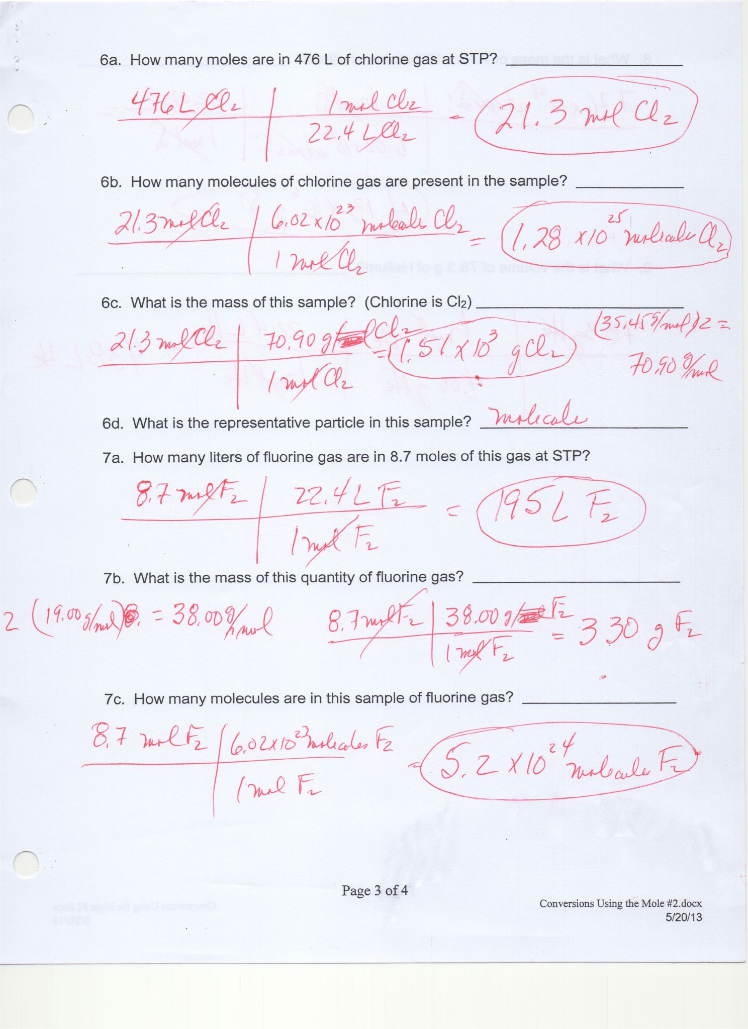 Scientific Notation And Significant Figures Worksheet