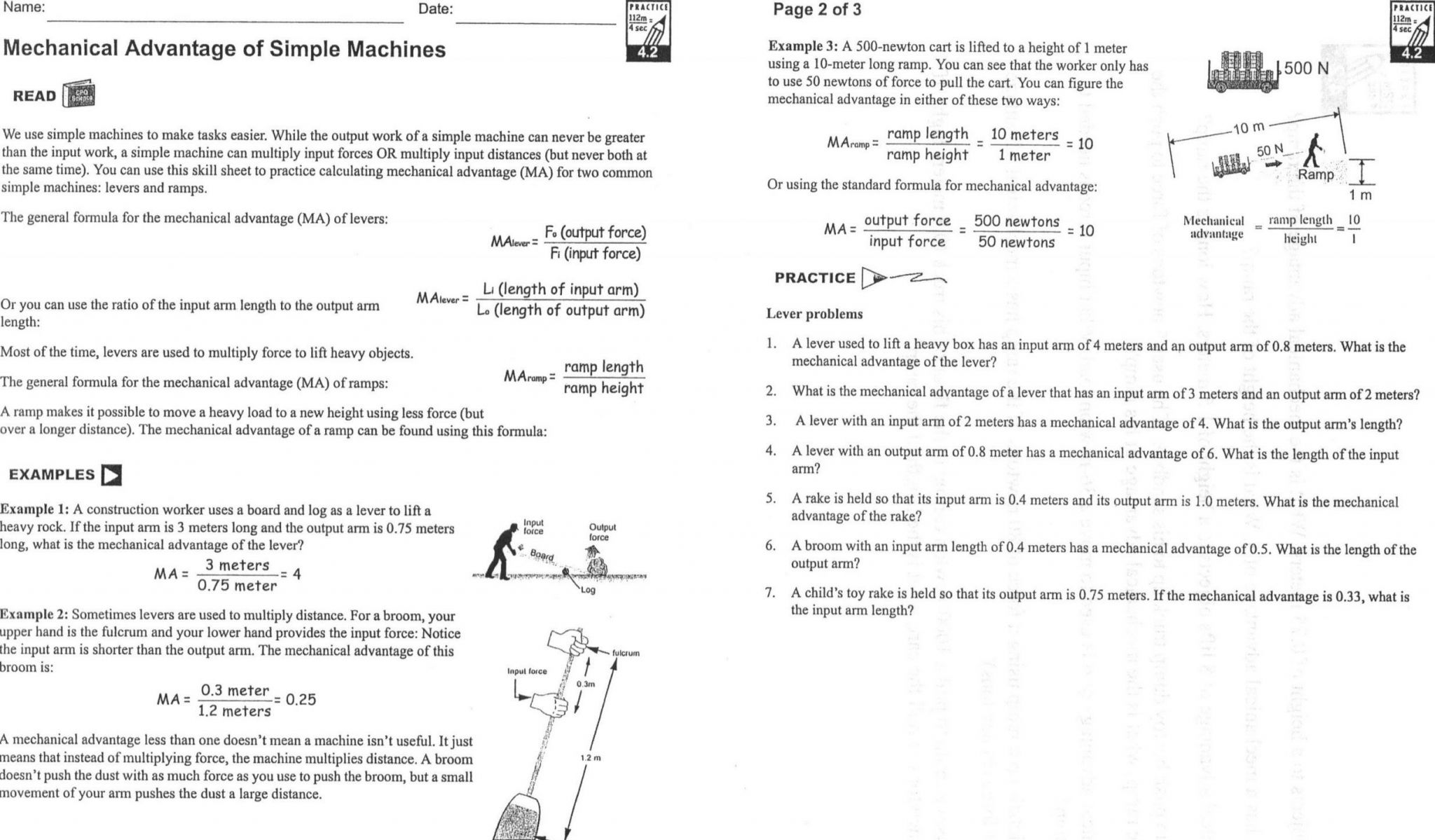 T Transformations Worksheet