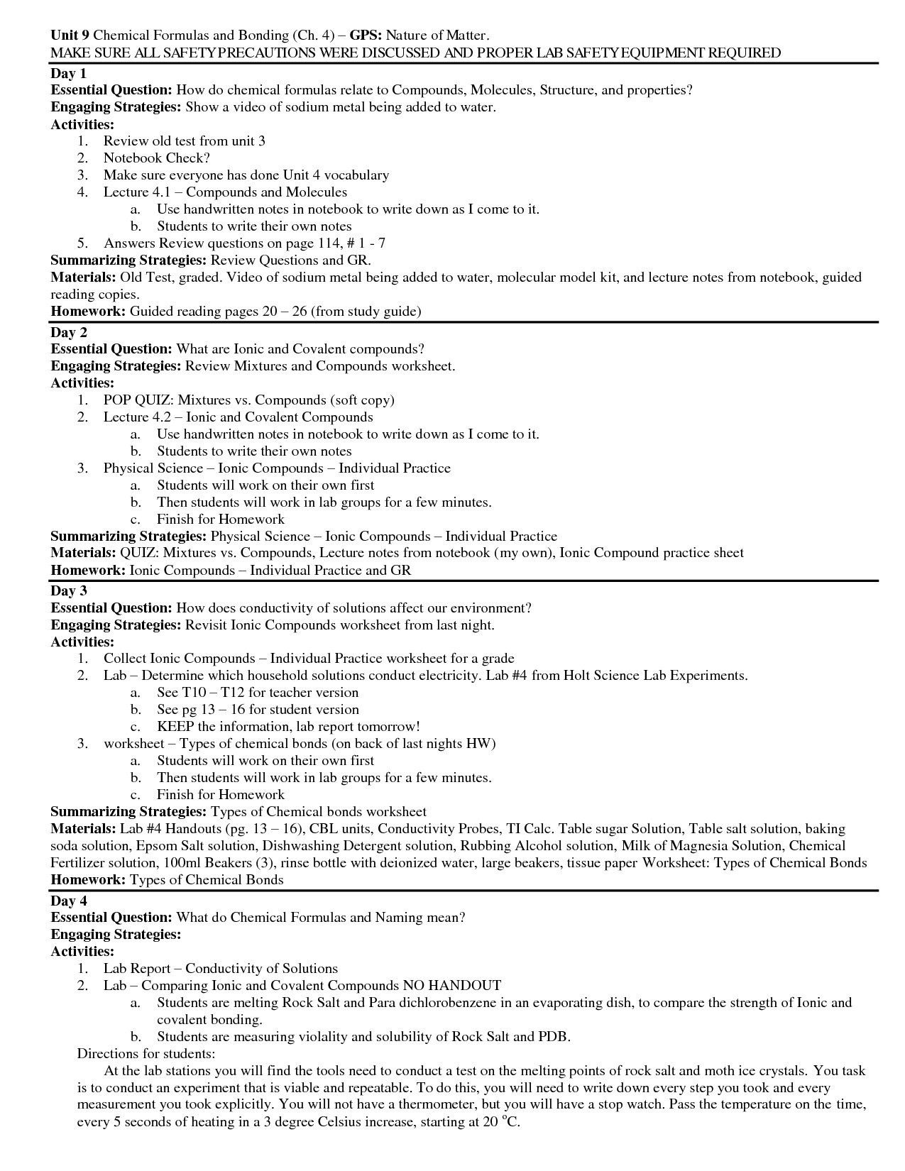 Skills Worksheet Directed Reading A Answer Key