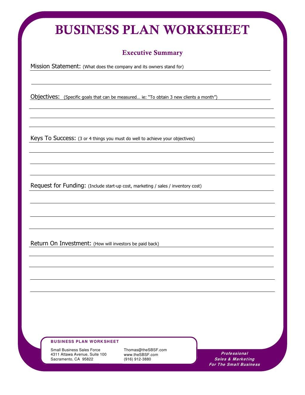 Small Business Tax Deductions Worksheet