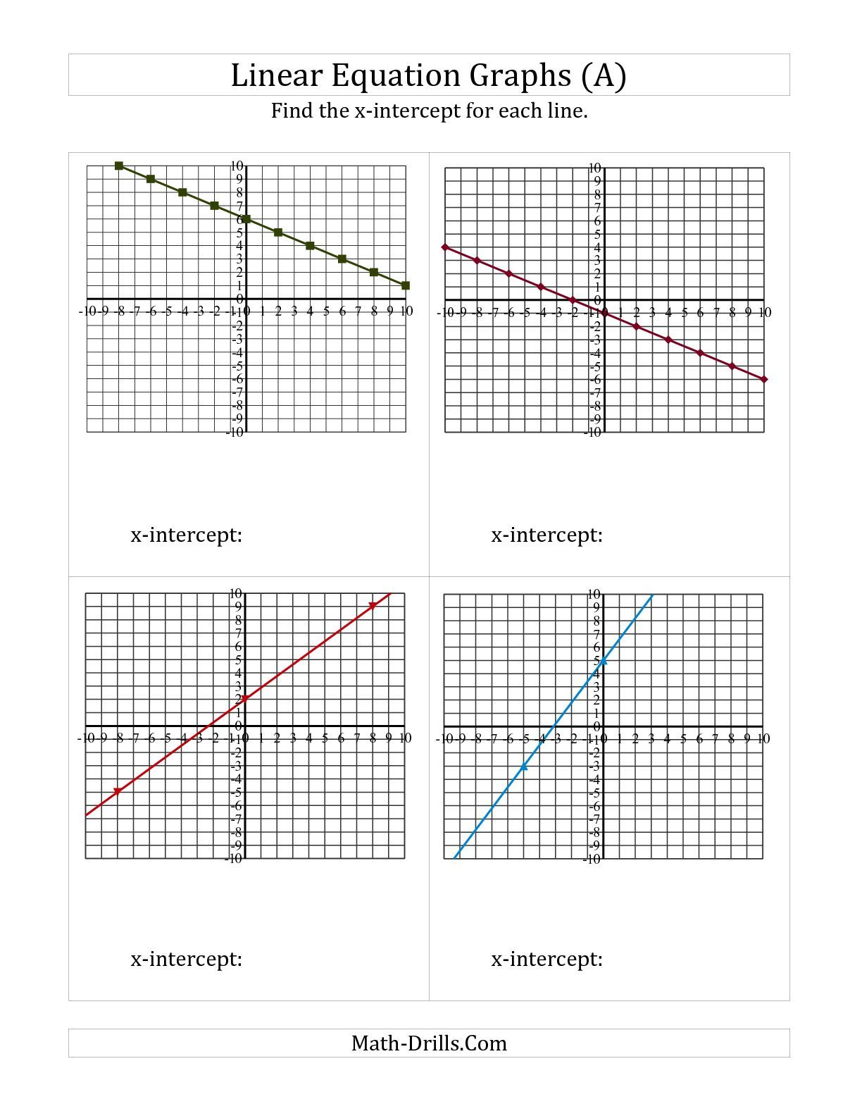 Solving Systems Of Equations By Graphing Worksheet Answer Key