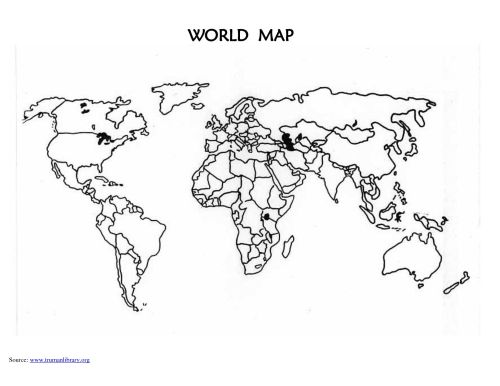 small resolution of Blank Map Of Spanish Speaking Countries - World Map Atlas