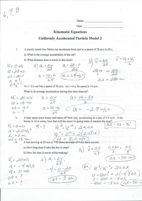 small resolution of 29 Speed Velocity Acceleration Worksheet Answer Key - Worksheet Resource  Plans