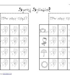 Open Syllable Worksheets   Printable Worksheets and Activities for  Teachers [ 1236 x 1600 Pixel ]