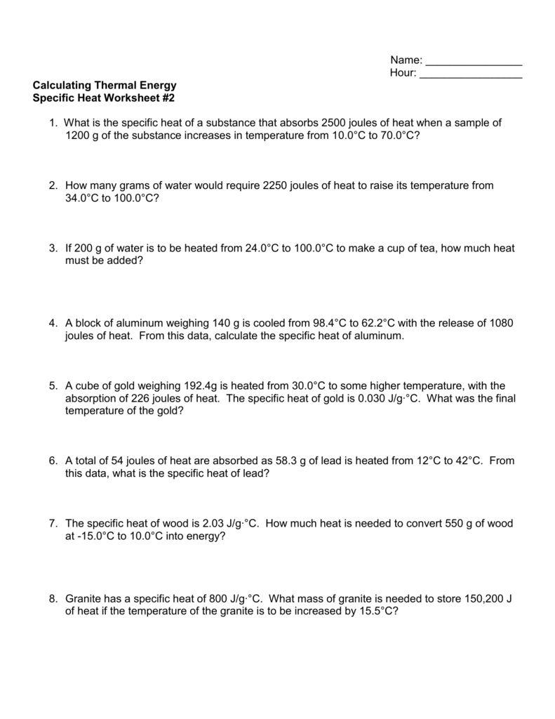 28+ note taking worksheet energy | thermal energy note taking ...