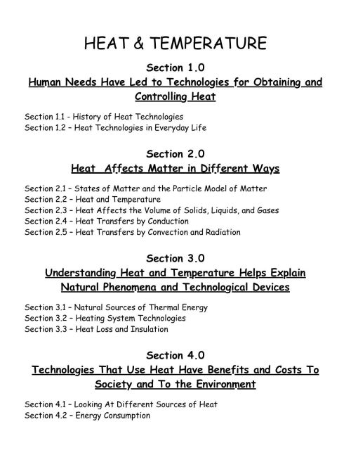 small resolution of Change Thermal Energy Worksheet   Printable Worksheets and Activities for  Teachers