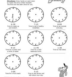 Telling Time Worksheet Third Grade   Printable Worksheets and Activities  for Teachers [ 2048 x 1583 Pixel ]