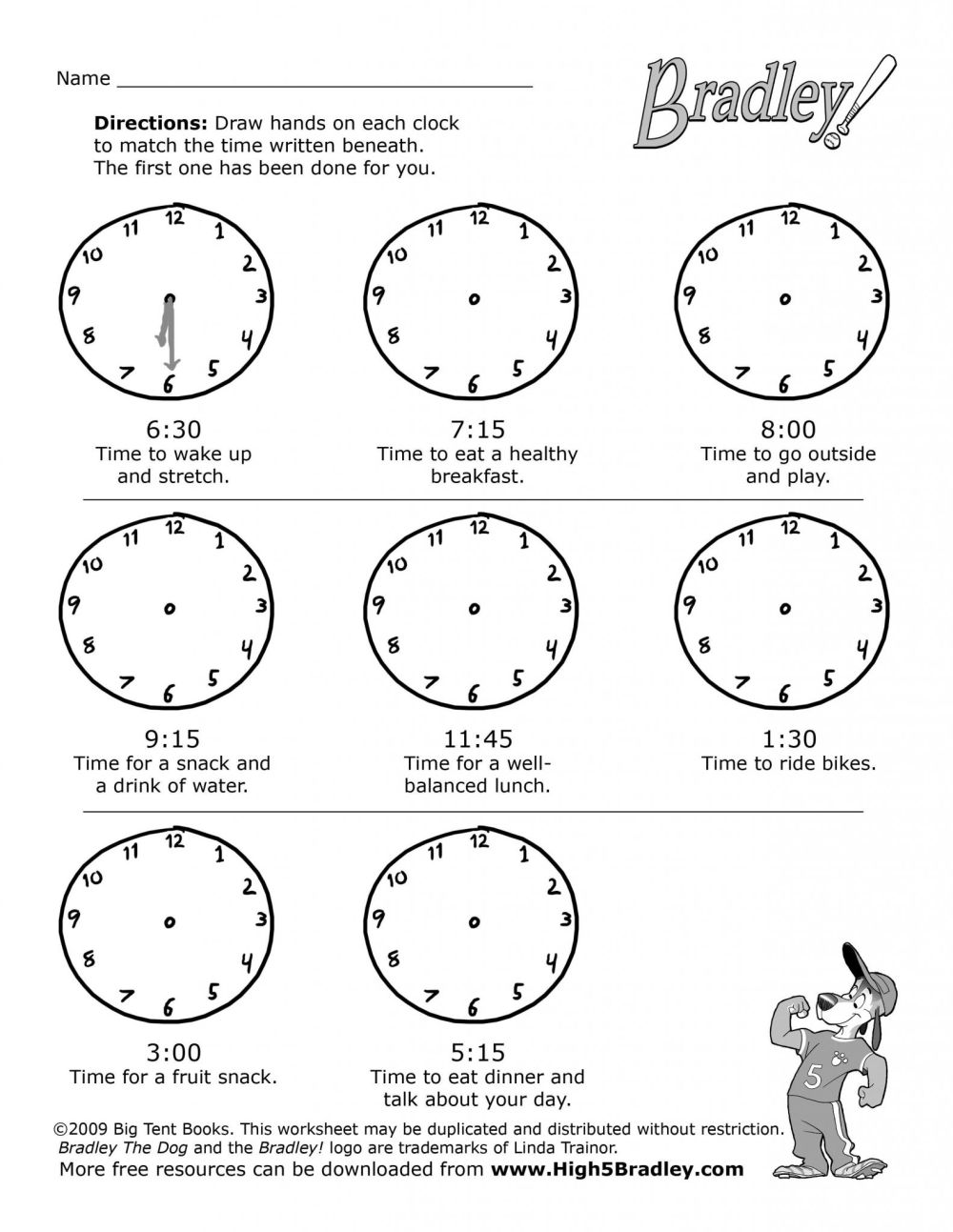 medium resolution of Telling Time Worksheets   Printable Worksheets and Activities for Teachers