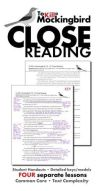 To Kill a Mockingbird Close Reading Lesson Materials for Four Chapters