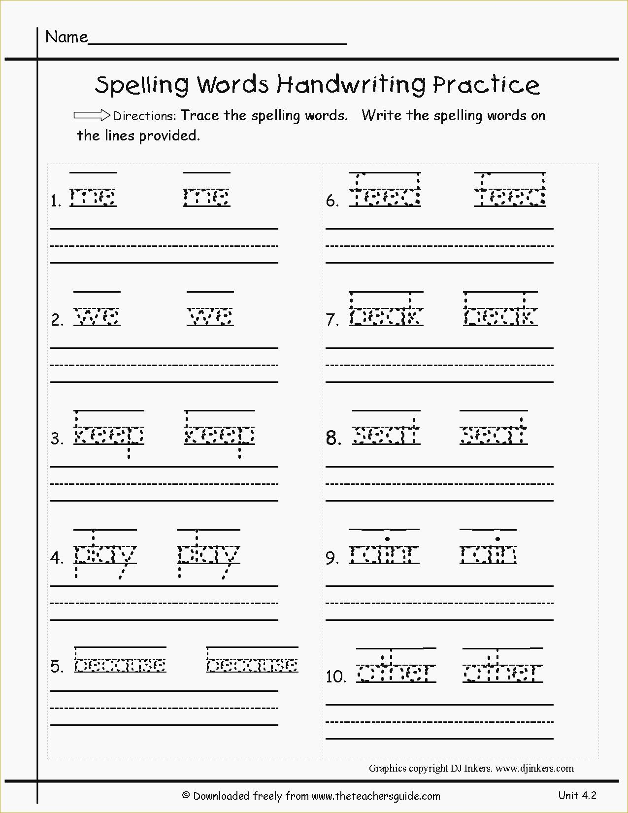 Transcription Practice Worksheet