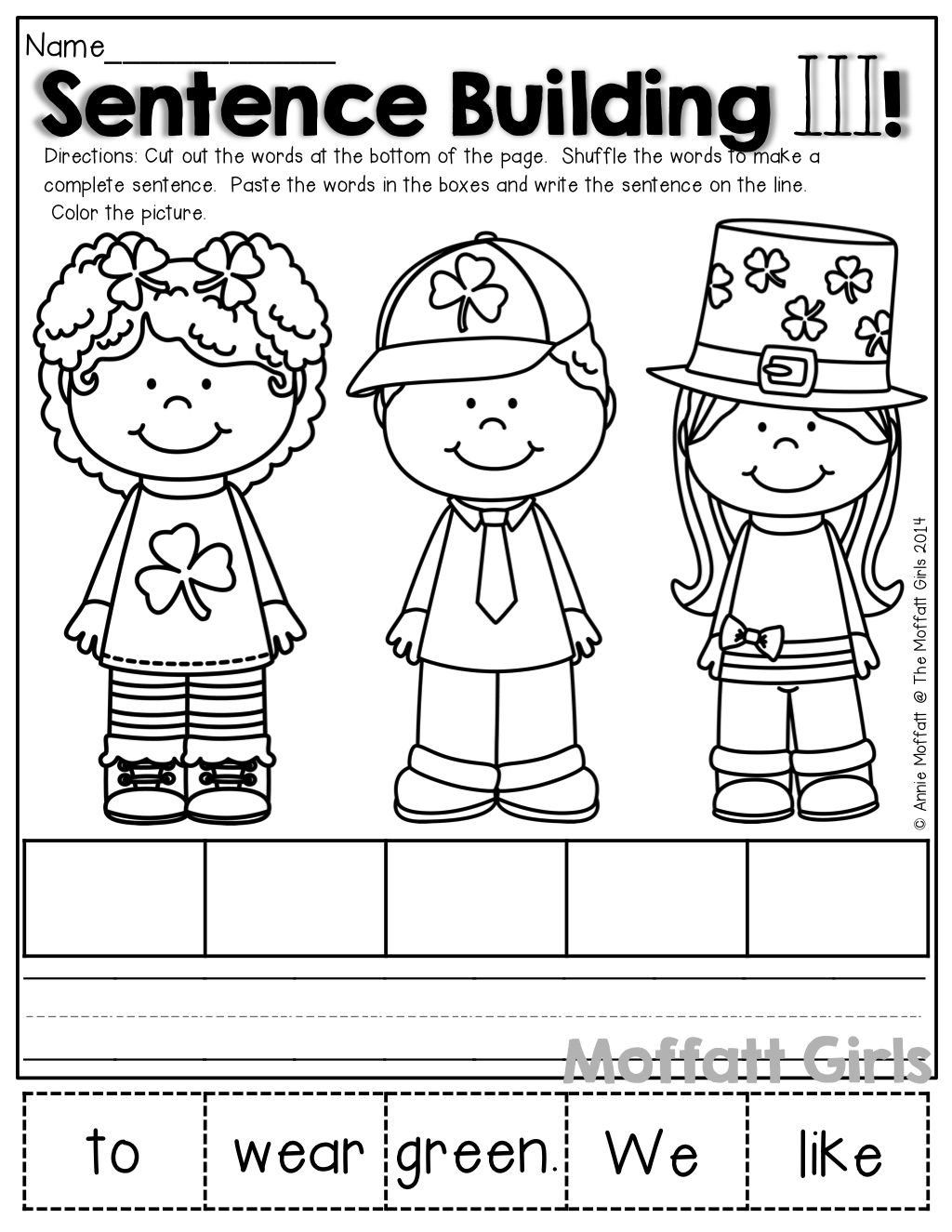 Unscramble Words Worksheets