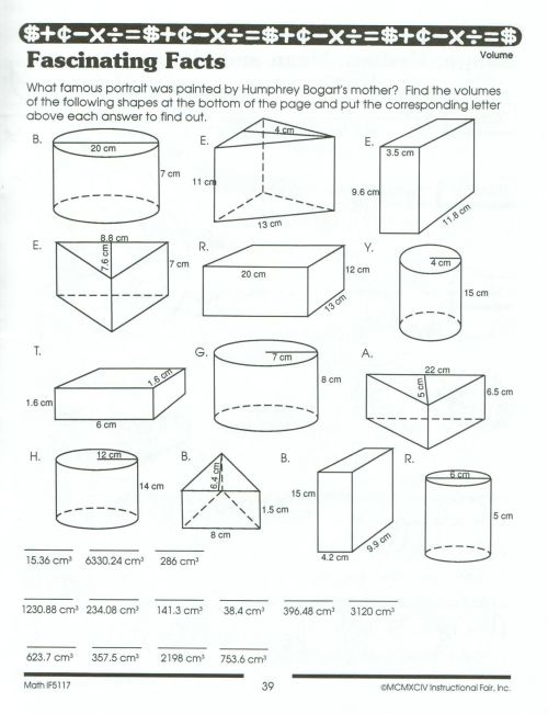 small resolution of Volume And Surface Area Worksheets Pdf   Printable Worksheets and  Activities for Teachers