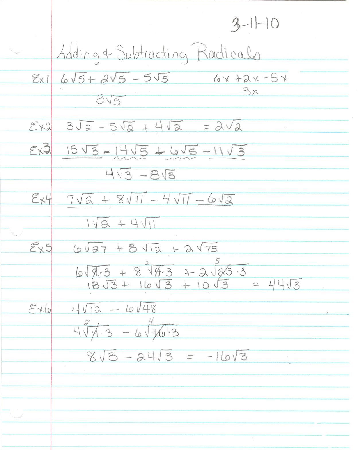 Worksheet 7 4 Inverse Functions