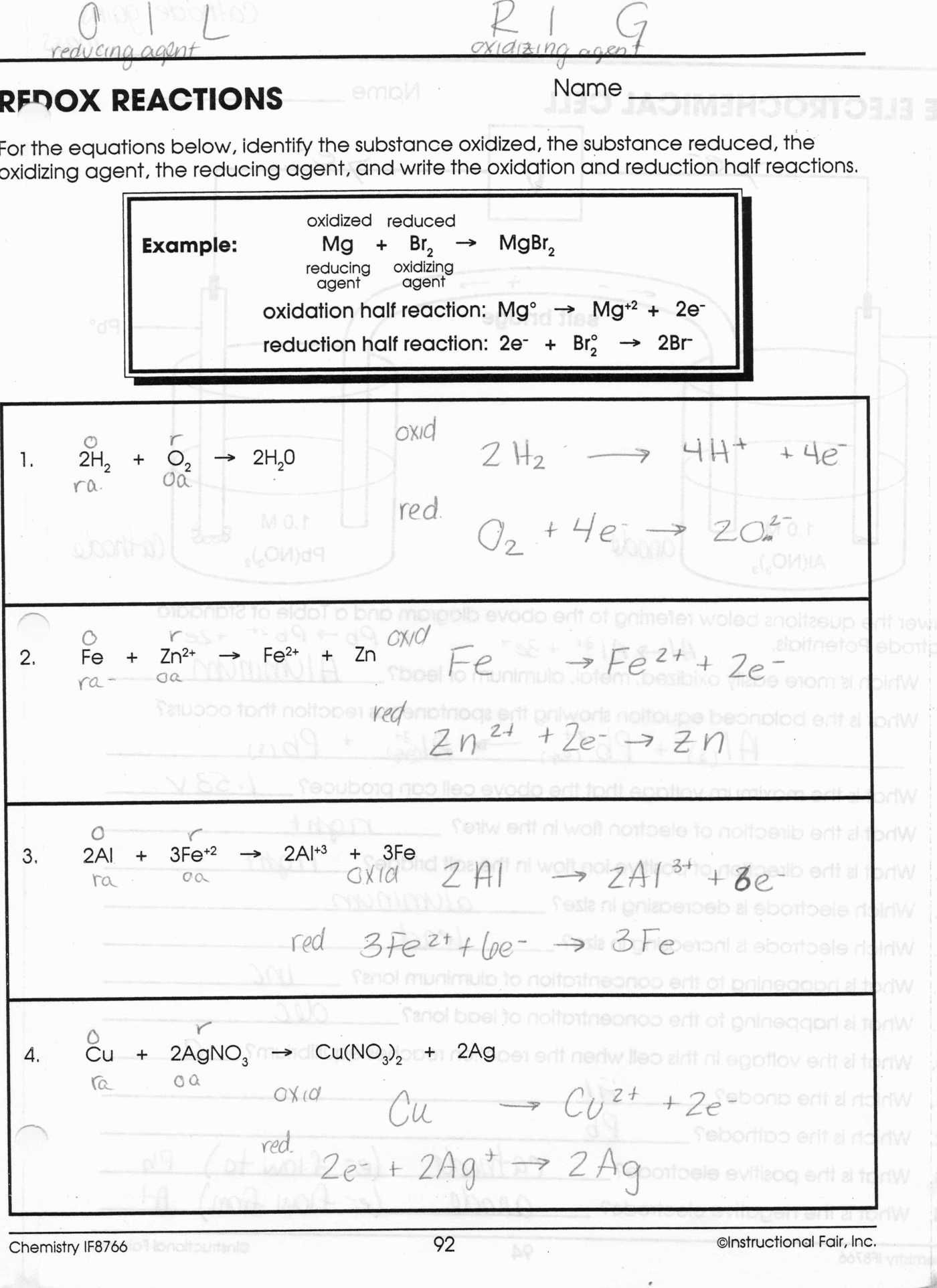 Ionic Bonding Worksheet 2 Answers