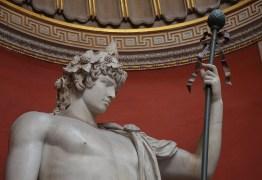 Colossal statue of Antinous as Dionysus Osiris