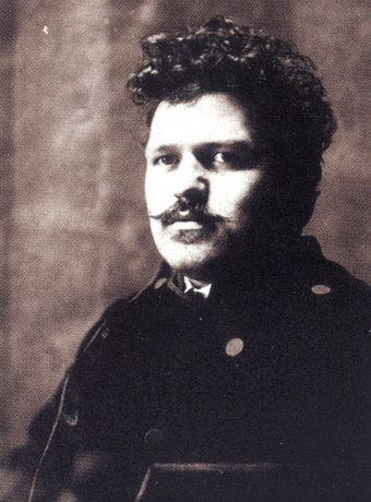 Antonin Slavicek - so sah der Künstler aus