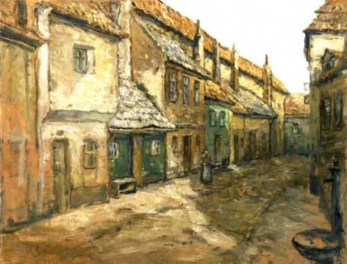 Gemälde des tschechischen Malers Antonin Slavicek